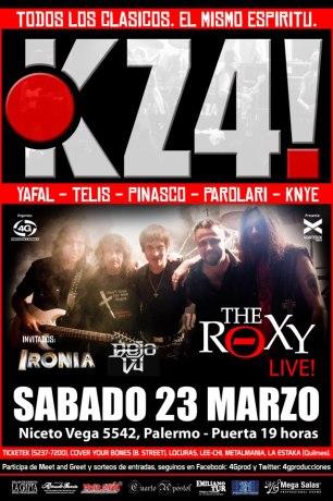 KZ4 en The Roxy Live