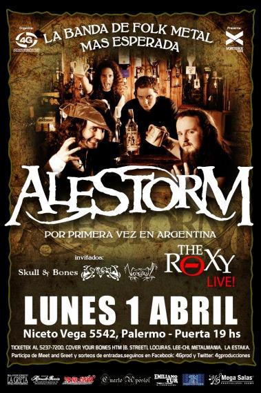 Alestorm en Argentina