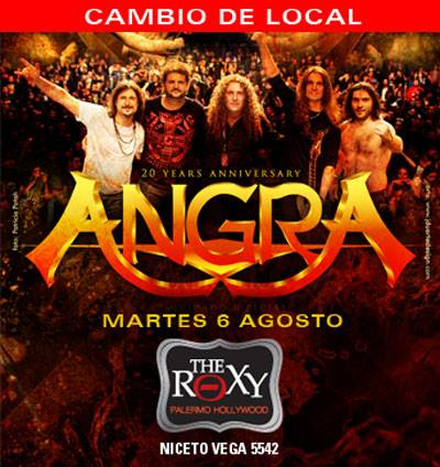 ANGRA EN THE ROXY LIVE!