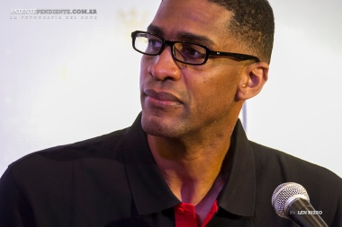 Conferencia de Prensa - Legends of Basketball Argentina Tour 2014