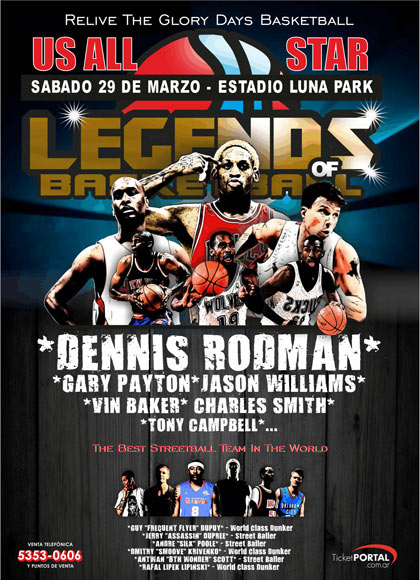 LEYENDS OF BASKETBALL ARGENTINA 2014 TOUR