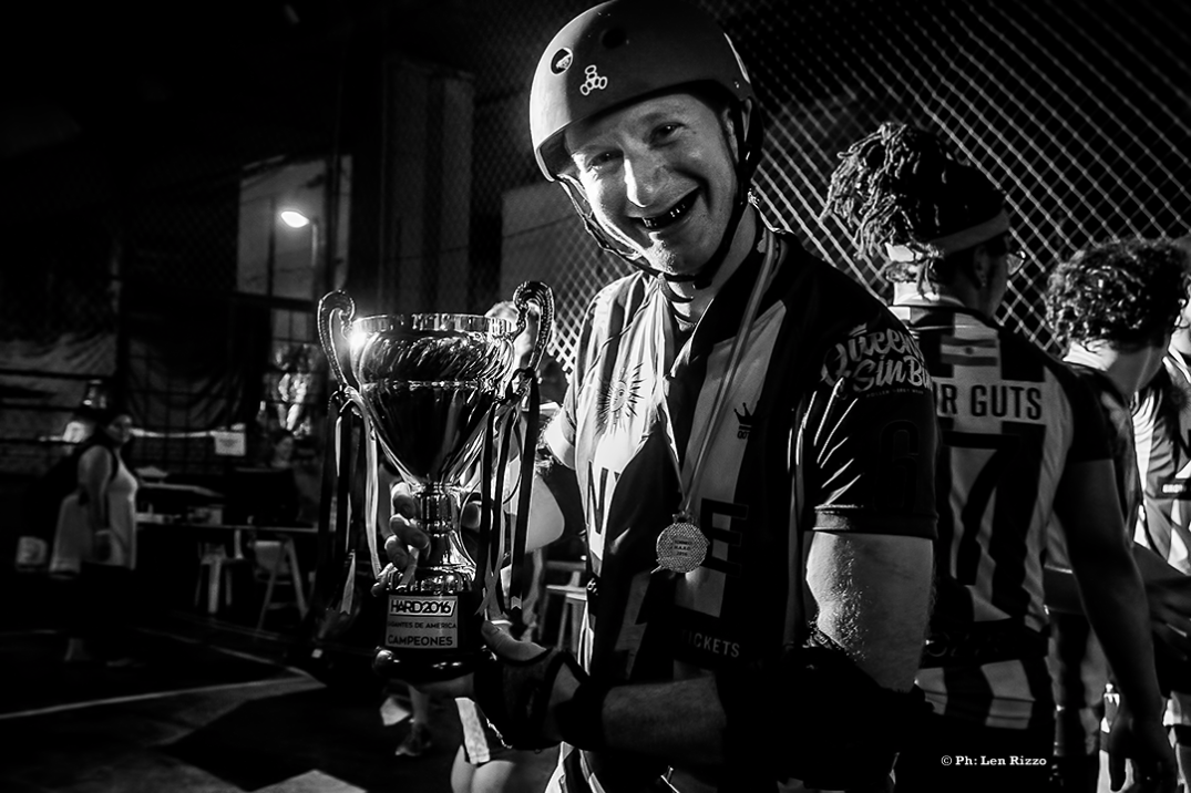 Roller Derby, Torneo HARD. by Len Rizzo