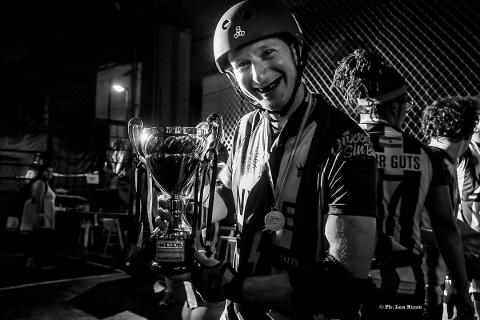 Roller Derby, Torneo HARD. by Len Rizzo